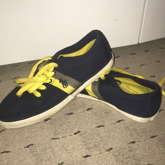 Ralph Lauren Shoes | Polo Navy Blue And